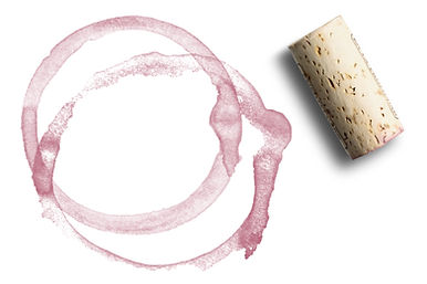 Cork and Wine Stain