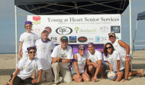 Young at Heart Senior Services Hosts Volleyball Tournament to benefit the Alzheimer's Association