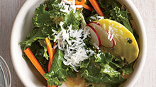 Healthy Eating at ANY age - Kale Garden Salad