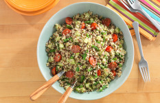 Healthy Eating (for any age!) – Zesty Quinoa Salad Recipe
