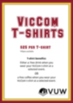 Clubs Week VicCom T-Shirts