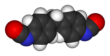 Methylene-diphenyl-diisocyanate-3D-vdW.p