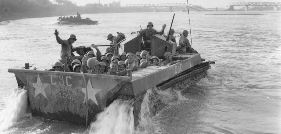 24 April 1945 Po River