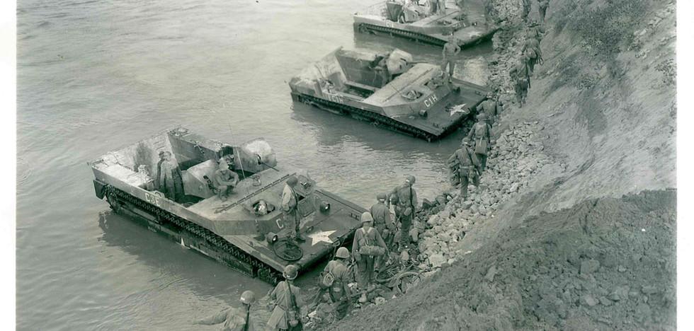 Po River - 351st Loading into Alligators