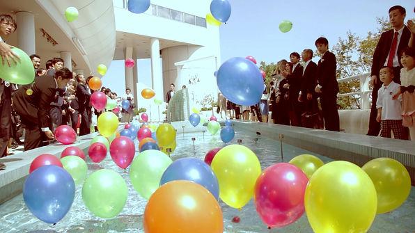 結婚式,撮って出しエンドロール,当日エンドロール,エンディングロール,ライブエンドロール,撮って出しエンドロール,挙式,披露宴