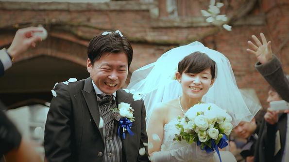 結婚式,エンドロール,持ち込み,業者,撮って出しエンドロール,エンディングロール,エンドロールムービー,ライブエンドロール