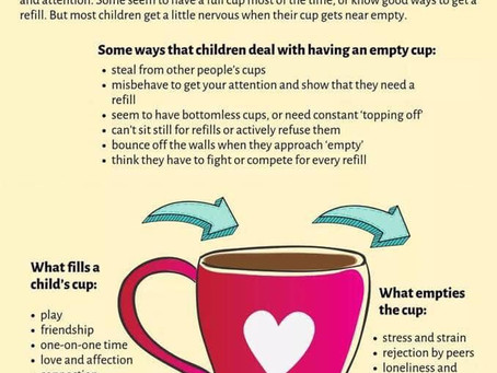 Fill your bucket/cup
