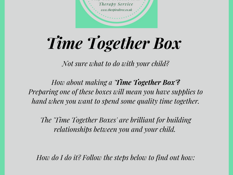 Making a Time Together Box
