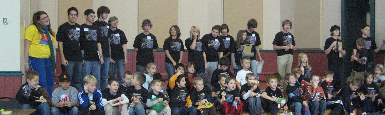 Outreach activity group photo