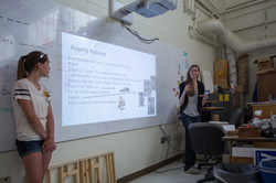 Students discus re-branding options