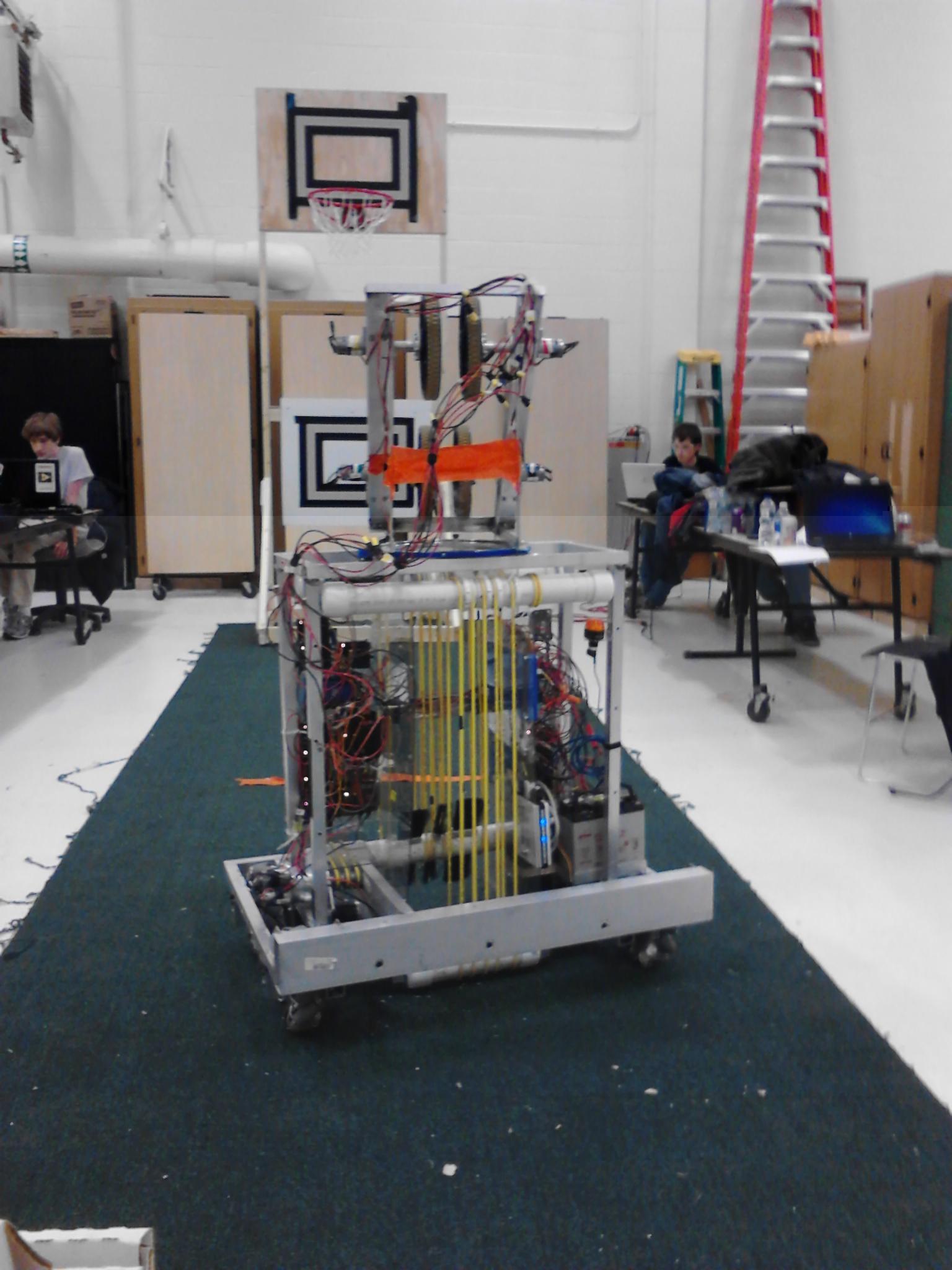Order 2 Chaos robot