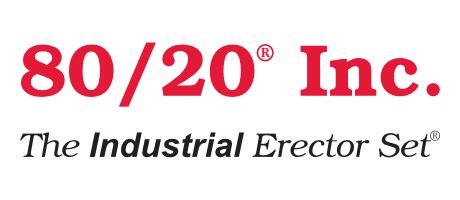 The 80/20 Inc. logo.