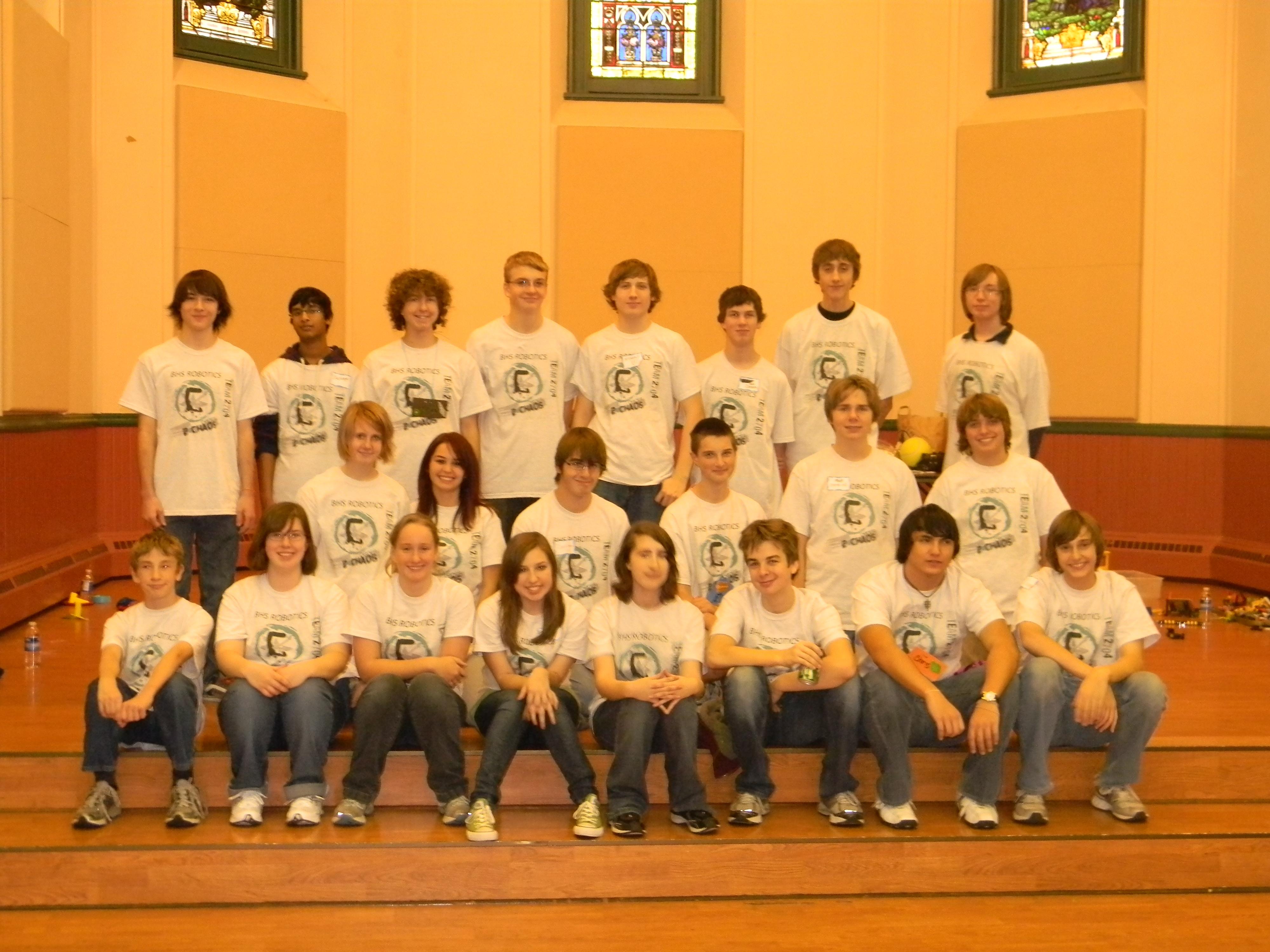 Order 2 Chaos Team Photo