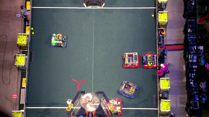 FIRST Robotics Competition is…