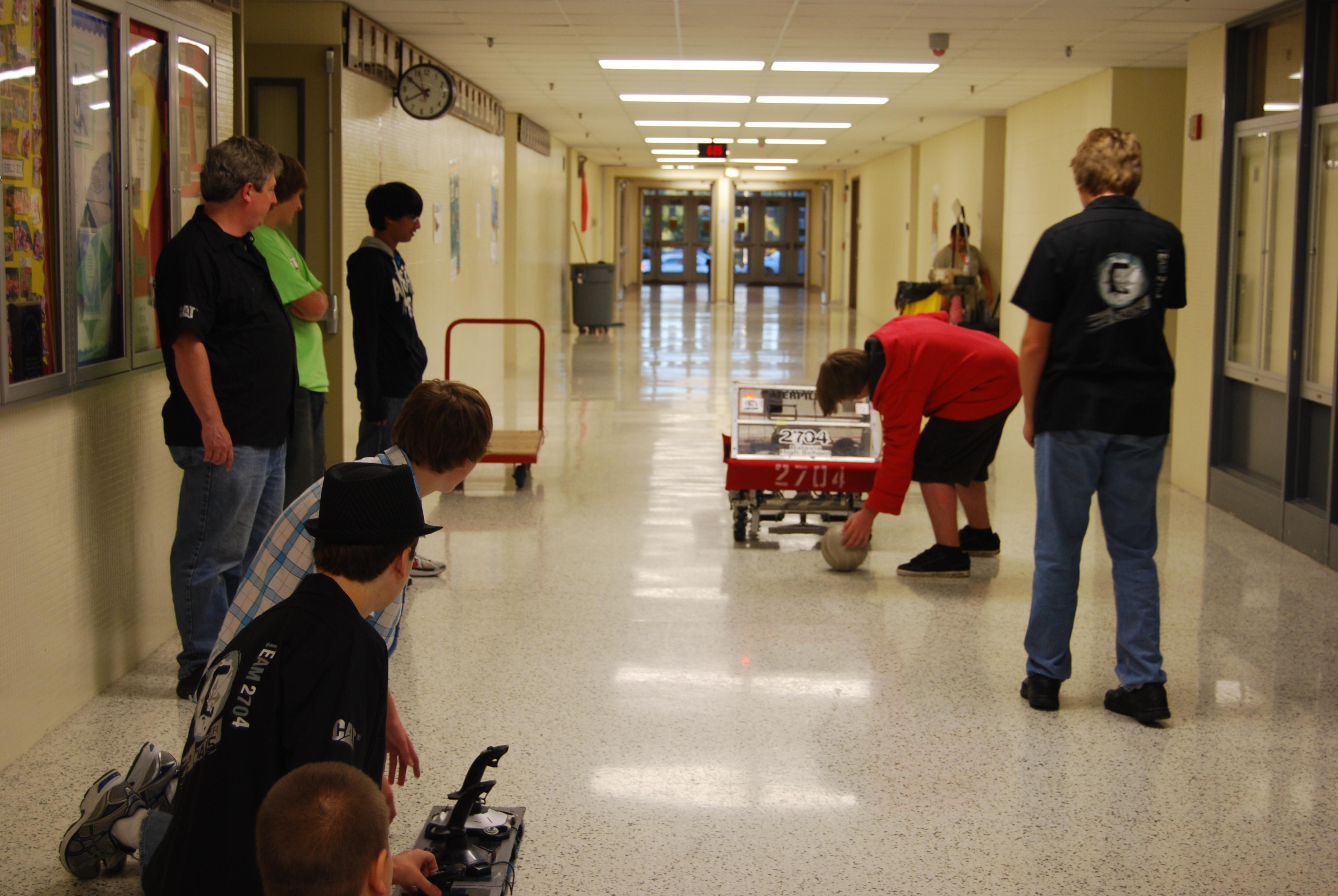 Order 2 Chaos robot testing