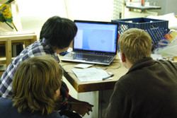 Order 2 Chaos students CADing