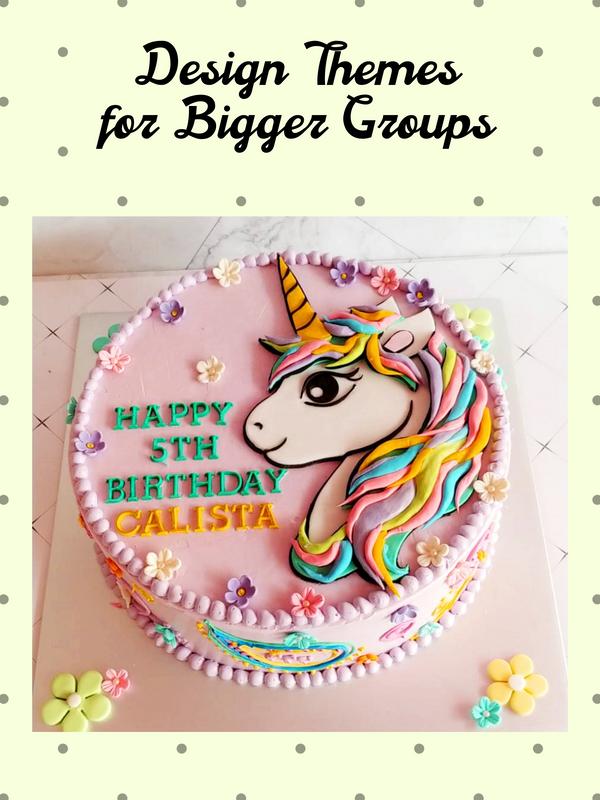 Design Group Set Cakes