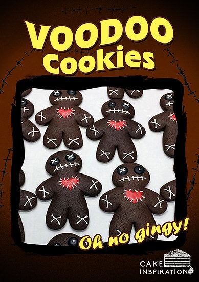 Oh my Gingy! Black Voodoo Cookies