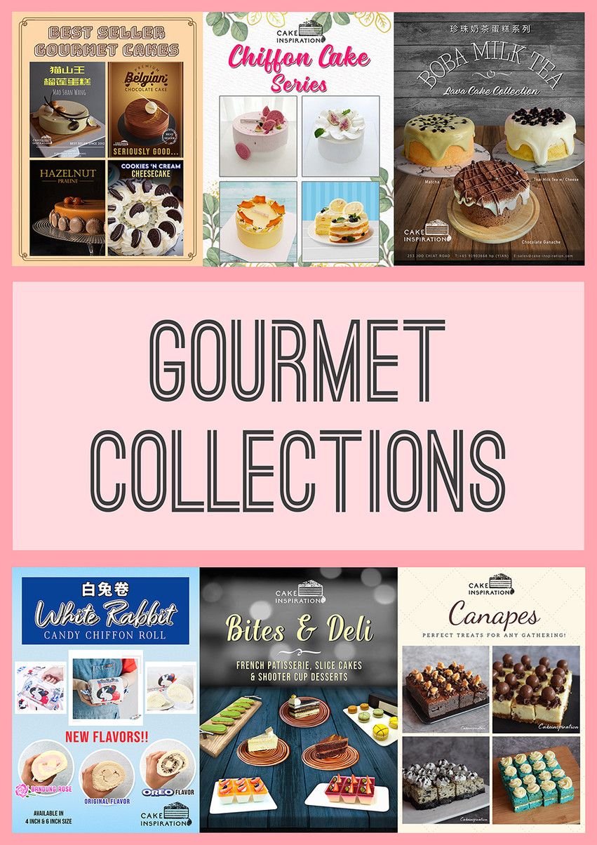 Gourmet Bestsellers - Choose from your favorite Chocolate / Durian / Cheesecake / Pastries / Swiss Rolls and many more !