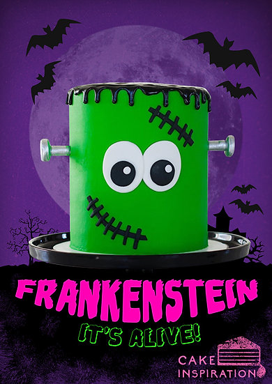 Frankenstein Cake - 4 inch or 6 inch / 1 day lead time
