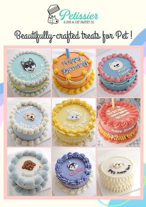 Plain + Head + Side Design Cakes