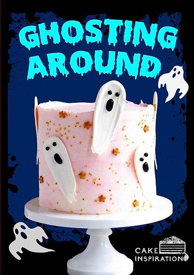 Ghosting Around - White Ghosts Cake