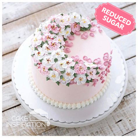 ROSETTE CREAM ART COLLECTION - DESIGN 26 ( Tier 2, Pastel detail cream flower