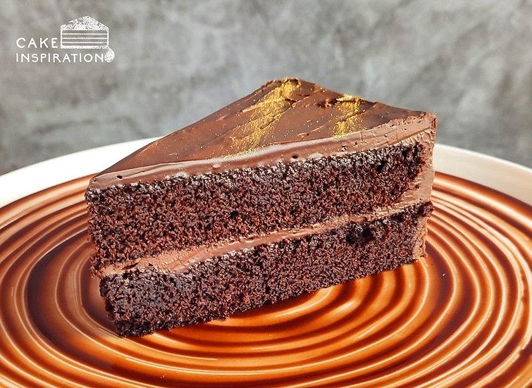 Belgian French Chocolate Slice Cake
