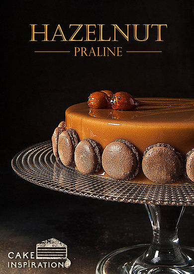 Pleasure gateux , hazelnut praline cake ( premium cake series )