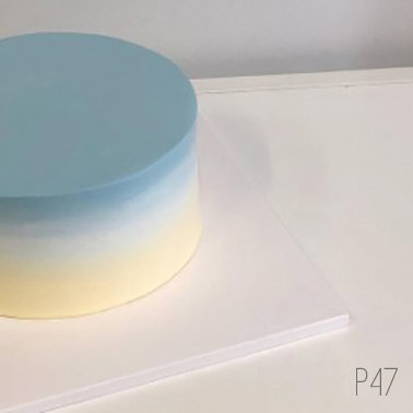 Plain Simple Style - Pastel Gradient Cake ( P47 )