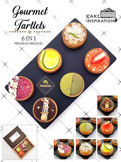 New! 6 in 1 Gourmet Tartlets Premium Original