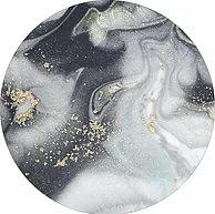 Cake Board design 17 - Grey Gold Marble