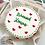 Thumbnail: Christmas Bento Choco Cake - 4 inch  ( CC#05 )
