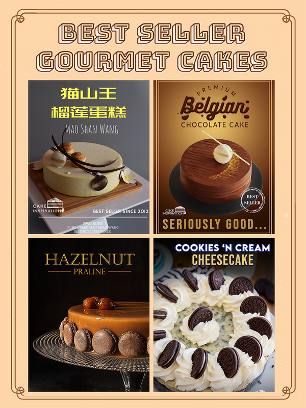 Best Seller - Durian / Chocolate / Cheesecake and many more!