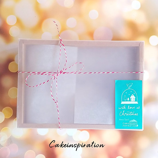 Special Pastry Gift Box - paper box ( large )