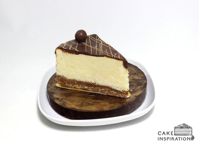 Malteser Slice Cheesecake
