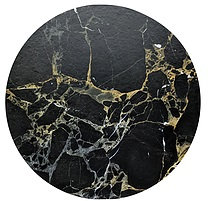 Cake Board design 18 - Black Gold