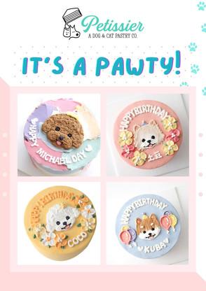 Plain + Head + Top Design Cakes