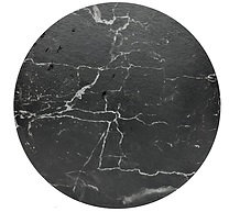 Cake Board design 07 - Black Marble