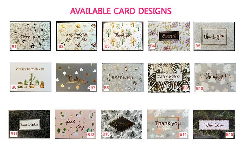 Greeting Cards - Design B