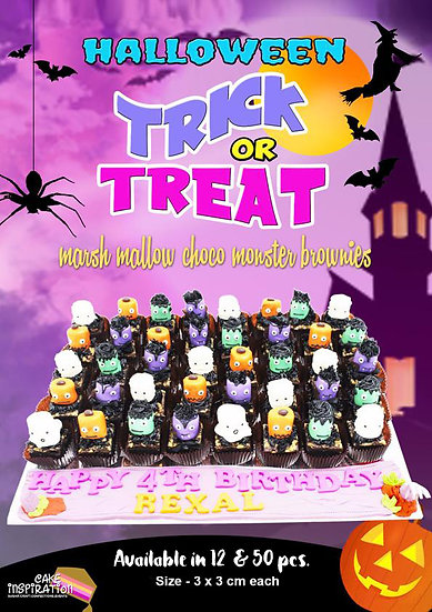 Marshmallow Halloween Canapes / 2 days lead time