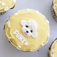 Pet Pupcake + Side Lace Border Design
