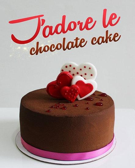 J'adore Strawberry Chocolate Cake