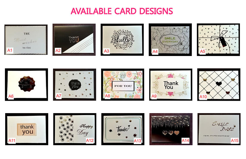 Greeting Cards - Design A