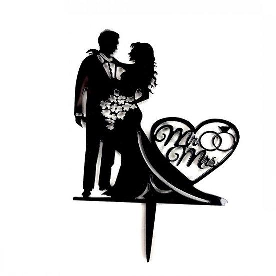 Wedding Cake - acrylic tag ( s211 )