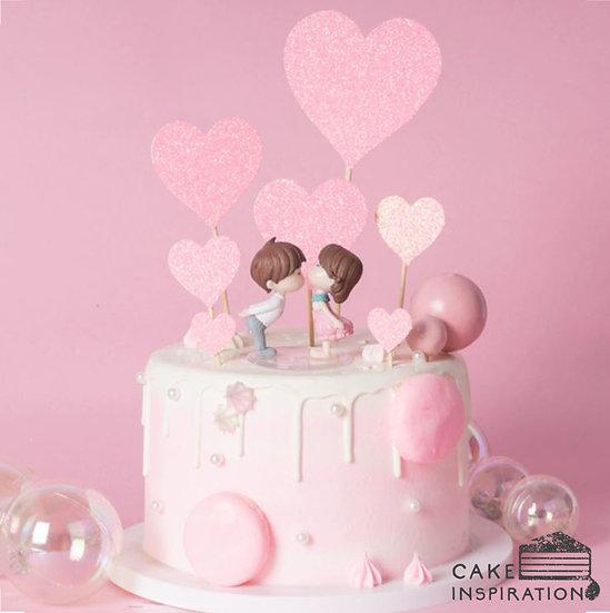Valentine's Day Drip Cake #01 - Sweetheart