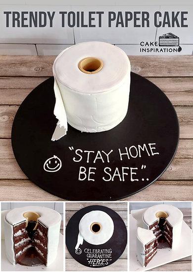 Trendy Toilet Paper Cake