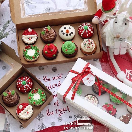 Christmas Cupcakes Set ( CD#18 )