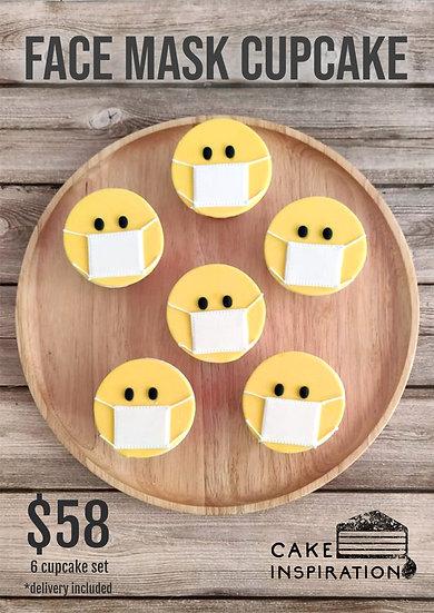 Face Mask Cupcake Set