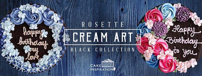 Rosette Cream Art Collection